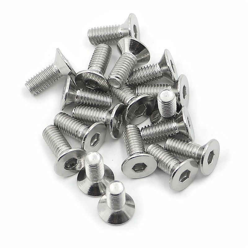 2/4/6 Disc Brake Rotor Screw OEM for <font><b>VW</b></font> <font><b>GOLF</b></font> MK2 <font><b>MK3</b></font> & MK4 1.0 1.3 1.6 1.6D 1.8 GTI & 16V <font><b>VR6</b></font> FROM 1984 TO 1991 image