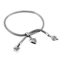 CA 31 2018 New Fashion Black Color Anchor Bracelets Men Charm Survival Rope Chain Paracord Bracelet Male Wrap Metal Sport Hooks