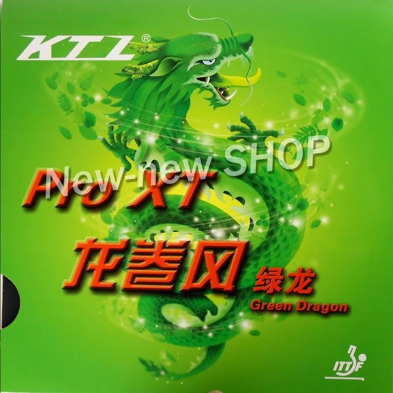 Gratis frakt, KTL Pro XT Green-Dragon Red Pips-i Bordtennis Gummi Med - Racquet sports - Bilde 2
