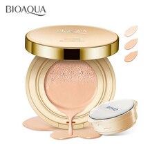 BIOAQUA Air Cushion BB Cream Cover Brighten Concealer Moisturizer Foundation Face Whitening Makeup Facial Base Perfect Cosmetics