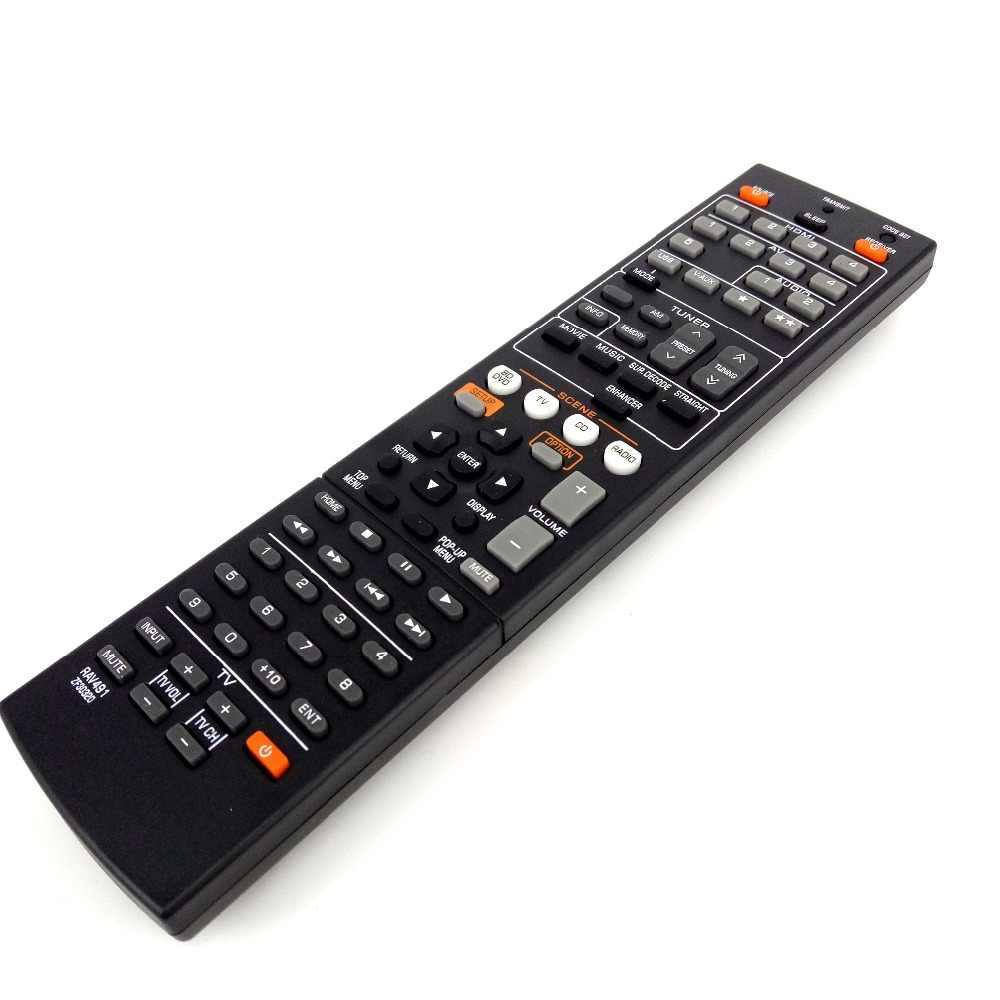 新しい交換リモコンヤマハ RAV491 ZF30320 交換 RAV494 HTR-4066 RX-V475 Av レシーバーラジオ Fernbedineung