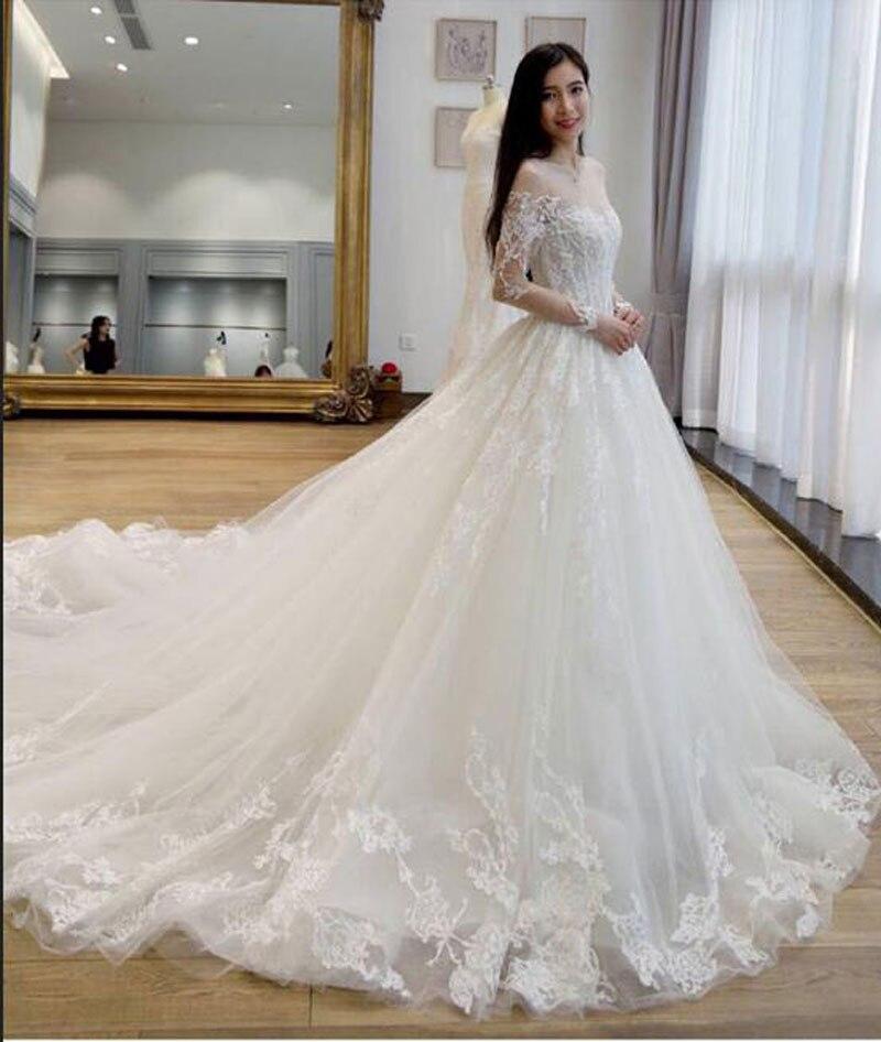 Online Get Cheap Sheer Wedding Dress Aliexpress Com Alibaba Group