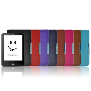 Flip PU Leather case for Tolino Vision 1/2/3/4 HD ebook reader case Protective cover, not fit for Tolino shine(China)
