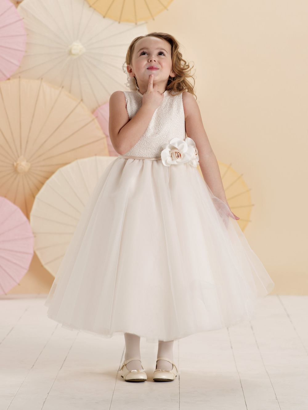 Beautiful white baby girls gowns with sash girl birthday ivory beautiful white baby girls gowns with sash girl birthday ivory lovely flower girl dresses cheap f11202 in flower girl dresses from weddings events on izmirmasajfo