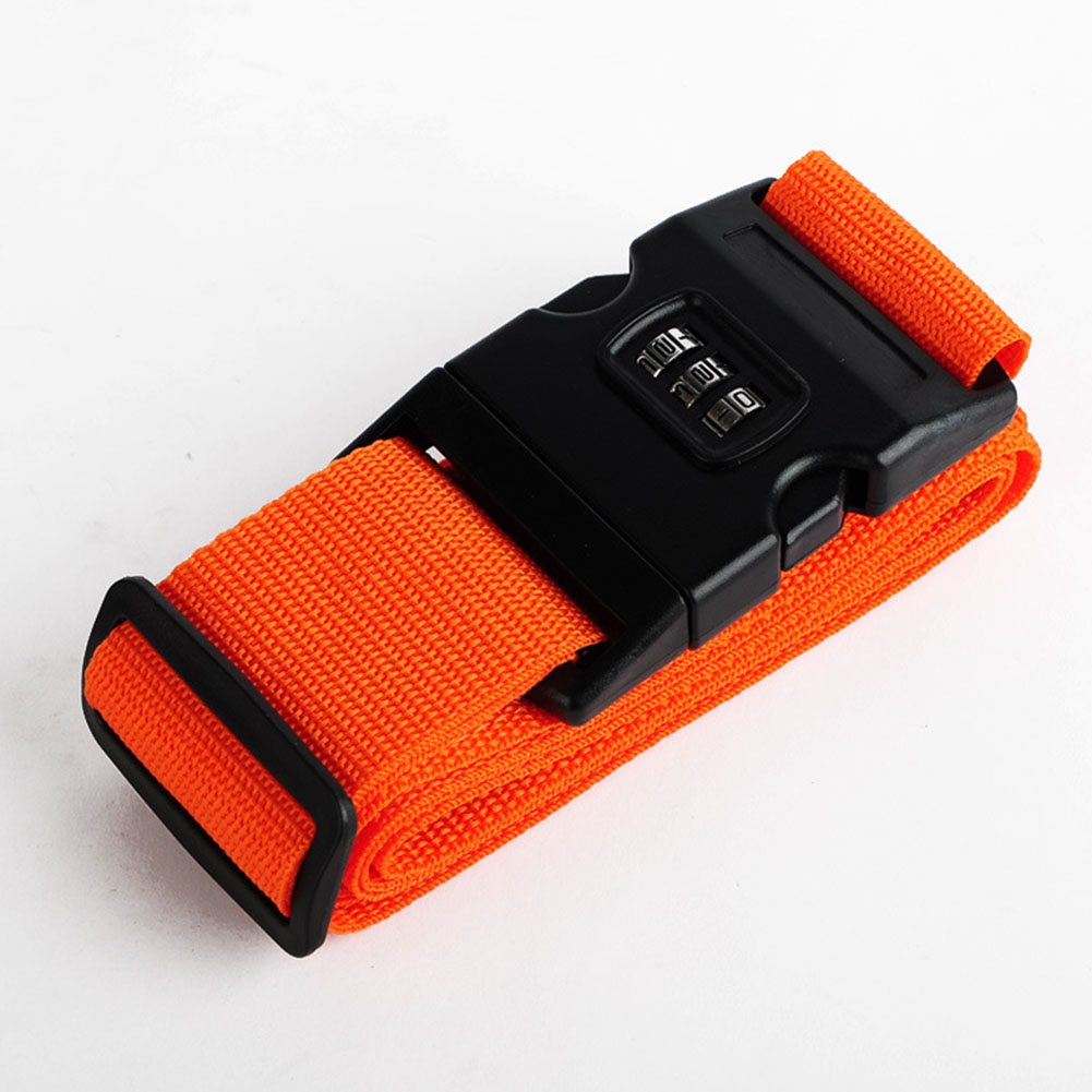 New Luggage Strap Belt Trolley Suitcase Adjustable Security Bag Parts Case Travel Accessories Supplies Gear Item Suff