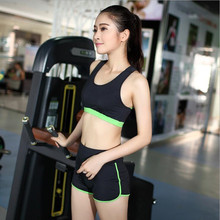 Women Yoga Sets Bra+Pants Sports Running Girls Fitness Clothing Women's Gym Fitness Clothes Workout Sport Costumes Capris