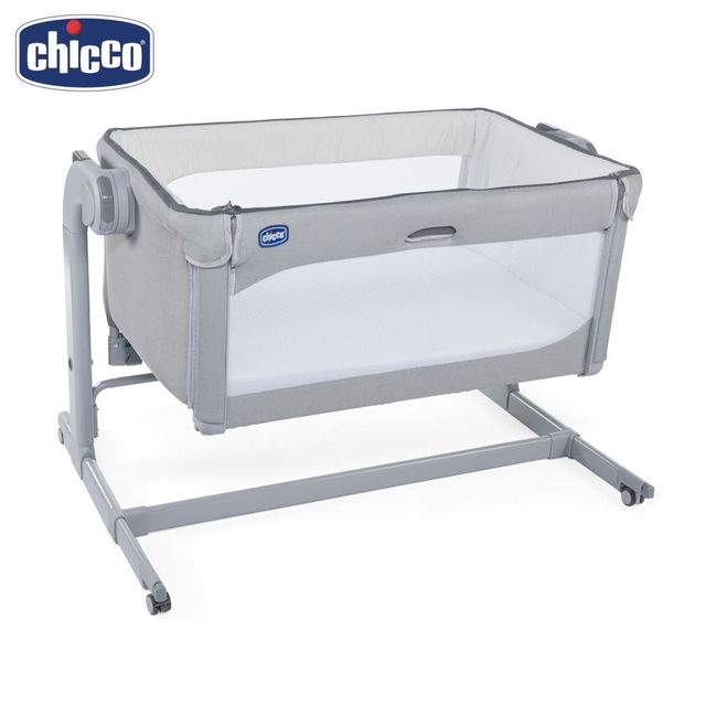 Кроватка Chicco Next2Me Magic Cool Grey