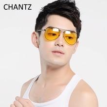 Visión nocturna Gafas de Sol de Gran Tamaño Mujeres Hombres Diseñador de la Marca Polarizado de Conducción Gafas UV400 Gafas De Sol Hombre Mujer