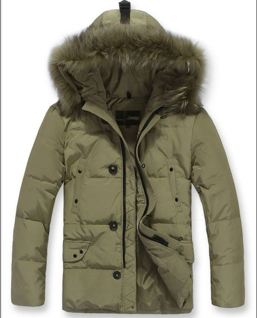 Fur Collar Men's Brand winter overcoat, Outwear, Winter jacket, 3 colors, M-XXXL, Big Size wholesale