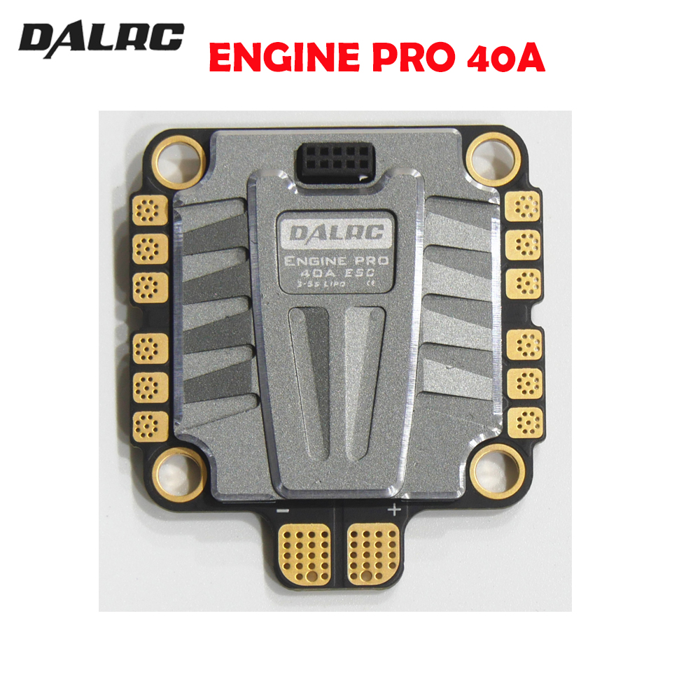 DALRC 4IN1 ENGING برو 40A ESC 3 5 ثانية Blheli_32 4 في 1 ESC فرش DSHOT1200 جاهز ث/ 5 فولت BEC ل RC سباق Drone هيكل حوامة رباعية-في قطع غيار وملحقات من الألعاب والهوايات على  مجموعة 1