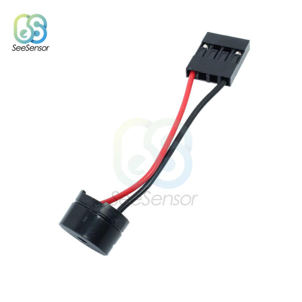 Interanal 10Pcs Plug Mini Speaker Para PC Placa BIOS Motherboard Mini Computador Caso Onboard Buzzer Beep de Alarme