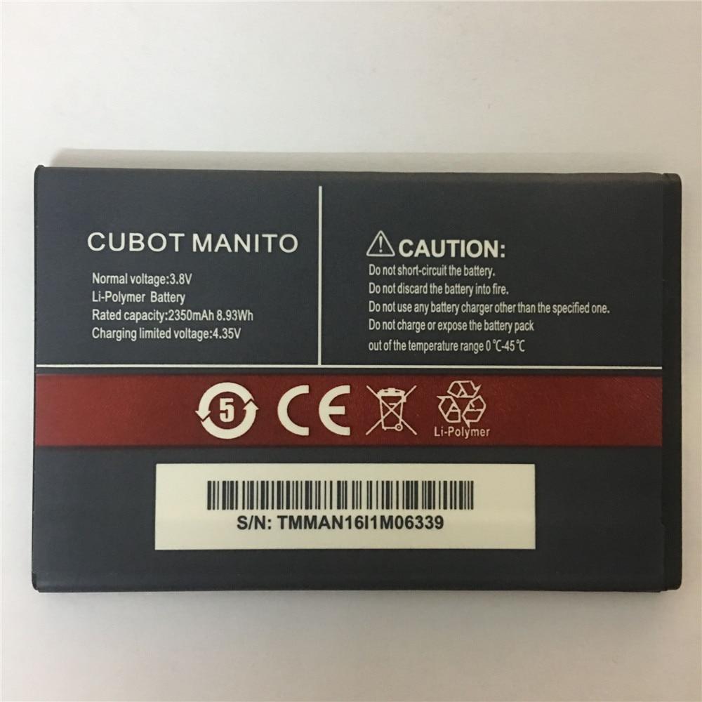 For CUBOT MANITO Battery Batterie Bateria Batterij Accumulator 3.8V 2350mAh