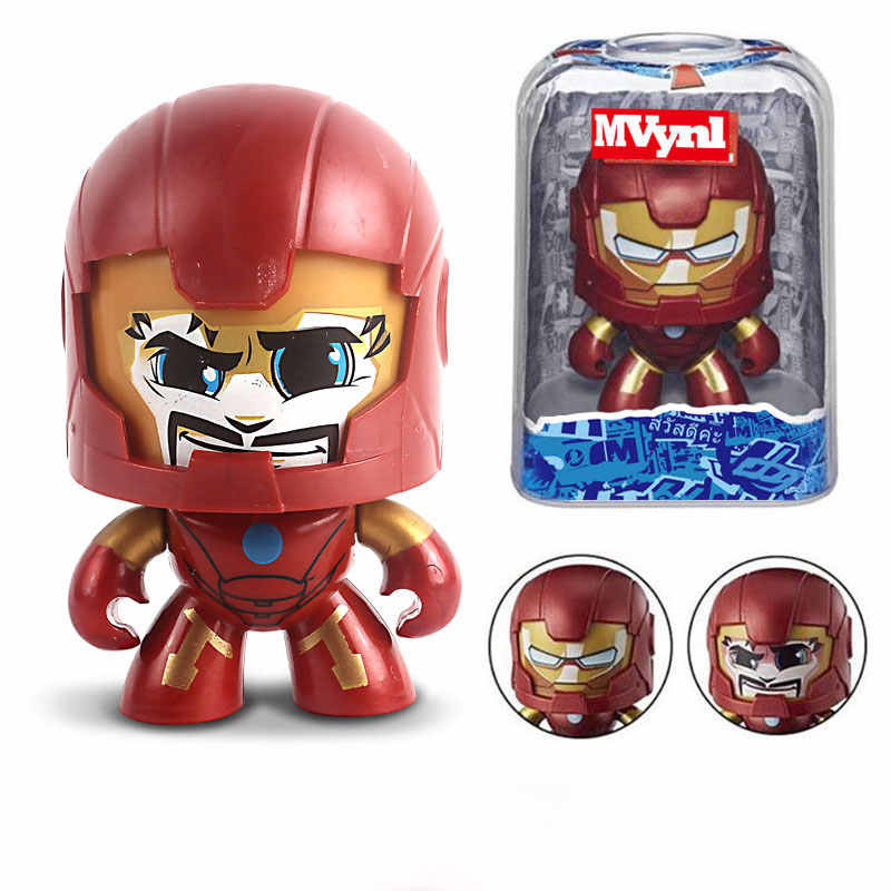 Figura de ação Hasbro anime boy toy avengers homem De Ferro homem-aranha hulk capitão américa panteras anime figuras de ação presente