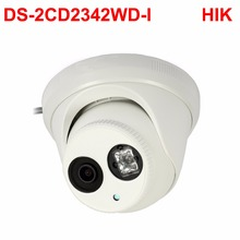 video surveillance ip camera 4MP WDR EXIR Turret Network Camera hikvision DS-2CD2342WD-I PoE 1080p HD Cam cctv security system