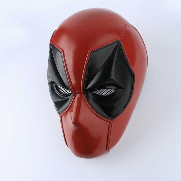 Deadpool Superhero masque Cosplay accessoires PVC casque adulte fête Halloween accessoires casque nouvelle Version Cosplay Prop