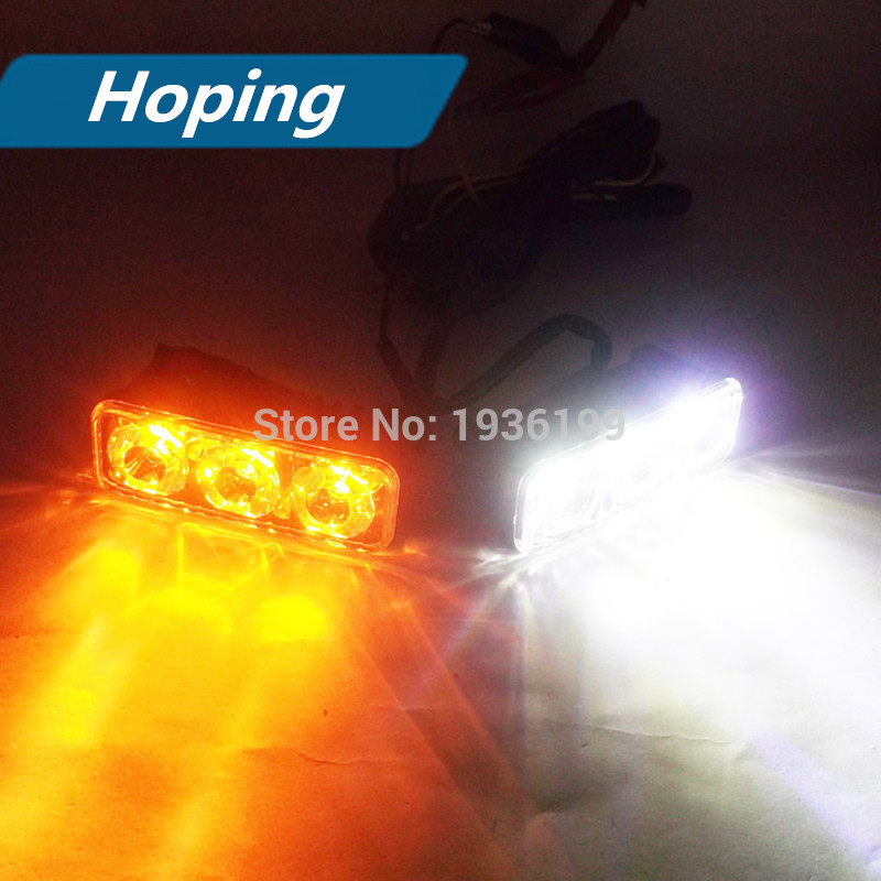 2pcs ümidli avtomobil lampa ikiqat rəngli super parlaq işıqlı - Avtomobil işıqları