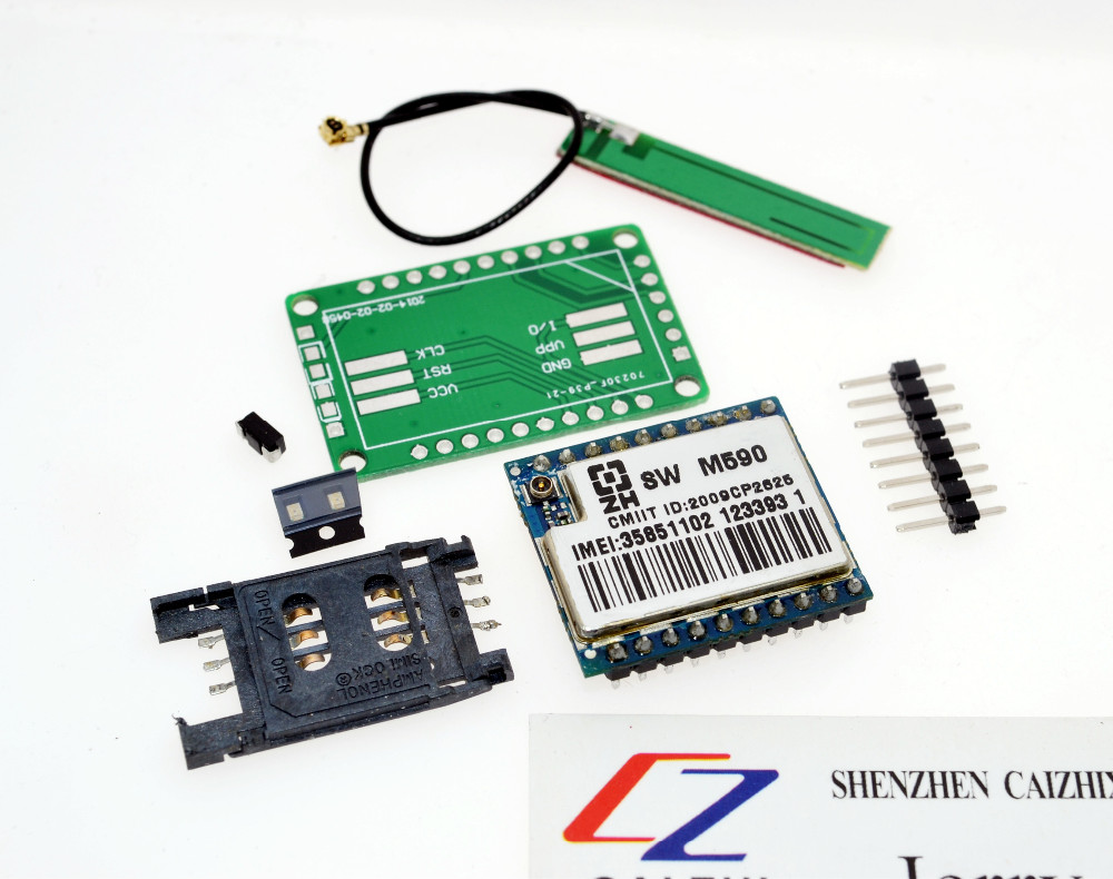 Kit diy gsm gprs m module short message service
