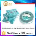 Guangming молибденовая проволока 0 18 мм  молибденовый провод для высокоскоростной EDM резки проволоки аксессуары 0 18 мм с 2000 метров