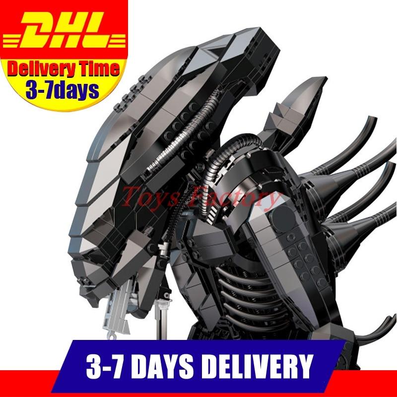 DHL LEPIN XINGBAO XB 04001 2020Pcs Genuine Creative Movie Series The Alien Robot Set Educational Building Blocks Bricks Toy