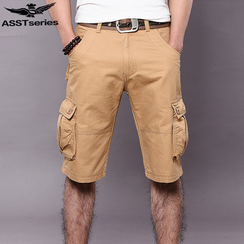 c5761025 Men's Tactical Shorts Cargo Military Shorts For Men Army Jeans Short ...