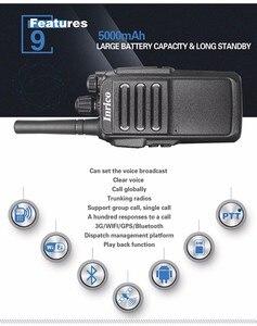 Image 3 - Беспроводной сети общего пользования цифровая портативная рация T196 3G WI FI сети 50 км портативная рация интеллигентая (ый) global говоря WCDMA радио