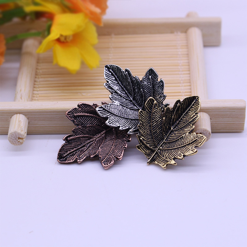 DIY-charme broche Mujer vintage pin broche ahorn blade form broches - Mode smykker - Foto 3