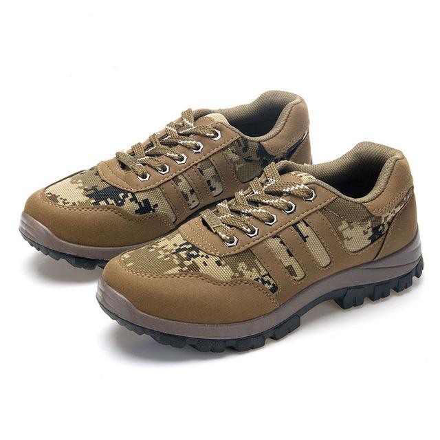 Invierno de Los Hombres Ocasionales Zapatos Al Aire Libre Caminar Escalada Táctica de Camuflaje Hombres de esquí de fondo Zapatos Hombres Turismo Zapatos Hombre