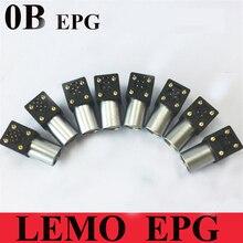 LEMO connector EPG 0B 2 3 4 5 6 7 9 Pin Female Socket LEMO EPG.0B.30*.HLN Elbow Socket for PCB