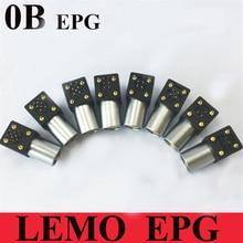 Lemo 커넥터 epg 0b 2 3 4 5 6 7 9 핀 암 소켓 lemo epg.0b. 30 *. hln 엘보 소켓 (pcb 용)