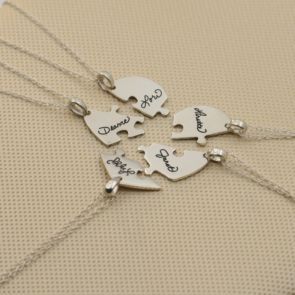 killigrew name lady nina necklace family personalized mothers