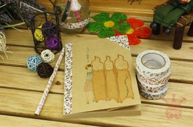 15 шт. смешанные цвета и стили тканевая Лента Хлопок печать ленты Скрапбукинг Аксессуары для дневника свадебные бумажные ремесла украшения