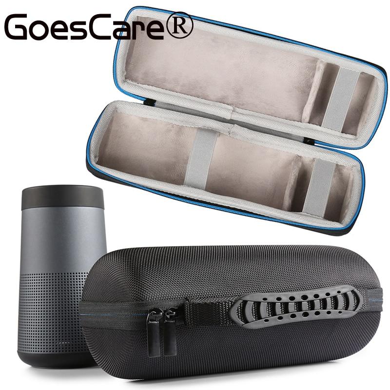imágenes para Lo nuevo Estuche protector Para Bose Soundlink Giran Bluetooth Altavoz de Viaje Bolsa de Transporte Funda Bolsa Espacio Extra Para Plug & Cable