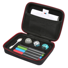 Newest Hard Case for Ozobot Evo App-Connected Coding Robot - Fits USB Charging Cable / playfield Skin 4 Color Code Markers