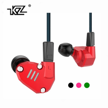 NEWEST Unique KZ ZS6 Earphone 2DD+2BA Hybrid Driver In-Ear Earbud KZ ZS6 HIFI Noise Lsolating Stereo Headset with Microphone