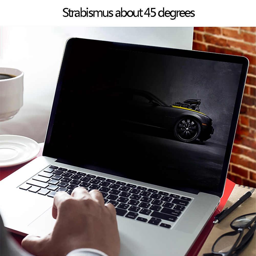 """עבור Apple Macbook Air 13.3 inch (286 מ""""מ * 179 מ""""מ) מחברת נגד בוהק מסך מגן פרטיות מסנן מסכי מגן סרט"""