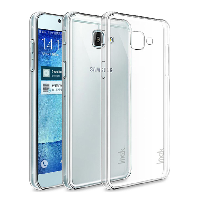 promo code 14f2b 81153 Aliexpress.com : Buy Imak For Samsung Galaxy A7 2017 Case Hight Quality  Transparent Wear resisting PC Hard Case Crystal Cover For Galaxy A7 2017  from ...