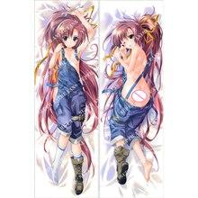 Japanese Anime Hugging Pillow Cover Case Pillowcase Decorative Pillows 2Way 50*160cm