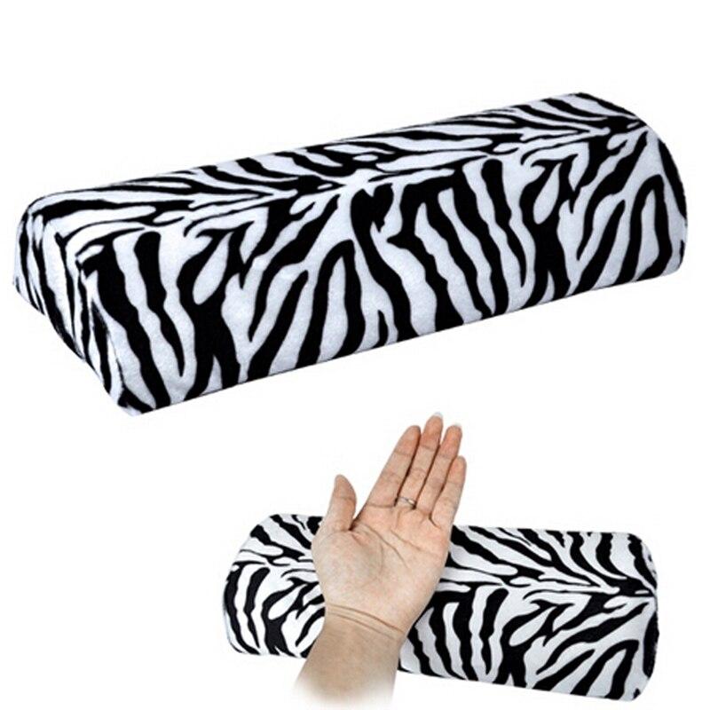 UnermüDlich Neue Zebra Streifen Nailart Hand Rest Professionellen Salon Diy Maniküre Hand Arm Finger Weiche Kissen Kissen Handauflage PüNktliches Timing Werkzeuge & Zubehör