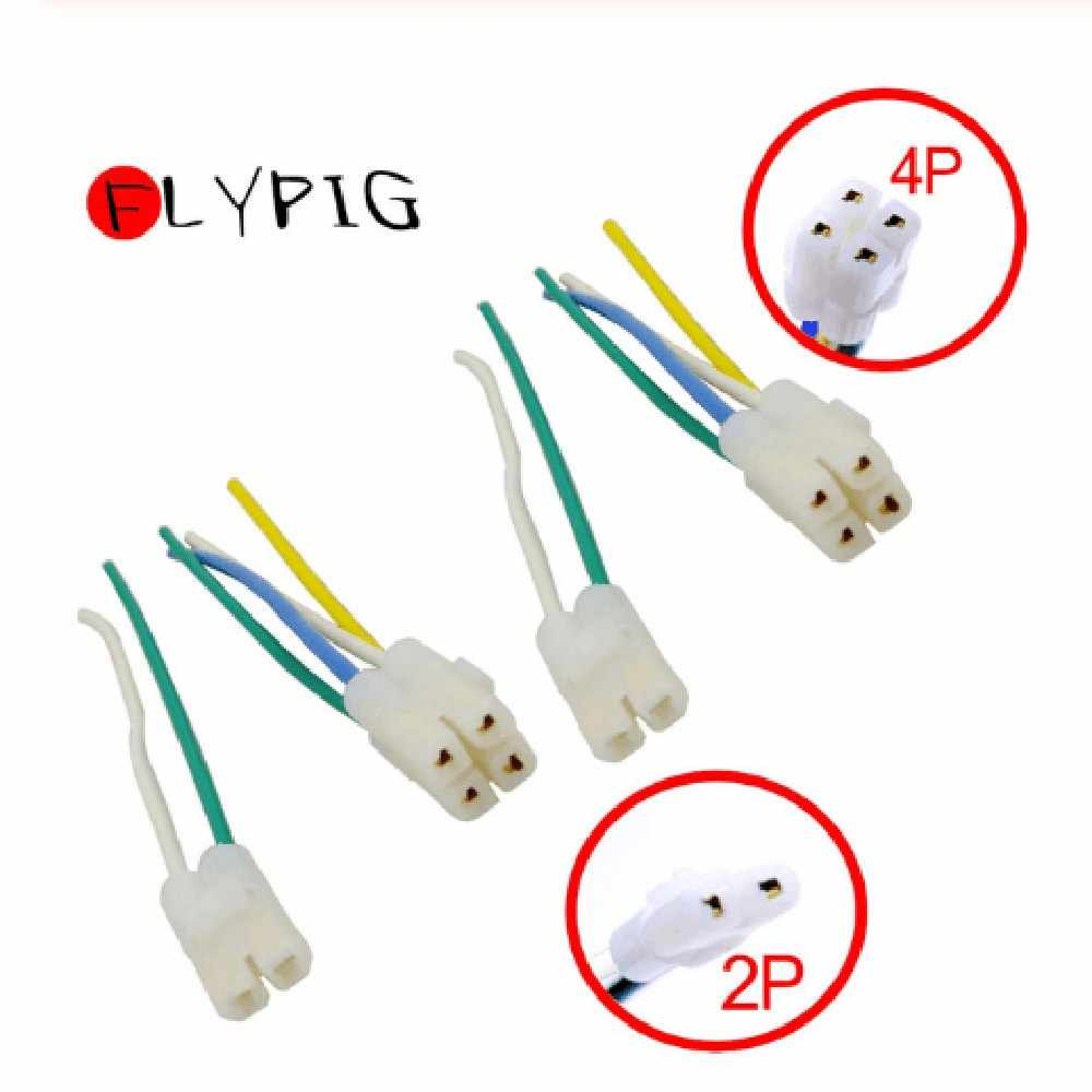 2+4 Pin CDI Cable Wire Adapter Harness Plug For Gy6 4 Stroke ...  Pin Wiring Harness Atv on