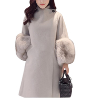 2017 Autumn Winter New Women S Jackets Coat High End Medium Long Cultivate One S Morality