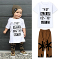 2017 summer style baby boy clothes fashion cotton baby girl clothing set casual short sleeved printed t-shirt+pants 2pcs sets 4