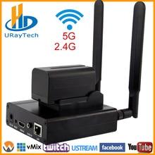 MPEG4 H.264 HD IP Video Encoder WiFi Wireless HDMI Encoder For IPTV, Live Streaming Broadcast, HDMI Video Recording RTMP Server цена в Москве и Питере