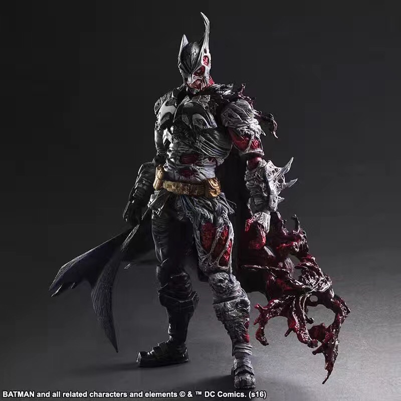 Play Arts Kai DC Comics Batman Rogues Gallery Two-Face PVC Action Figure Collectible Model Toy 29cm batman detective comics volume 9 gordon at war