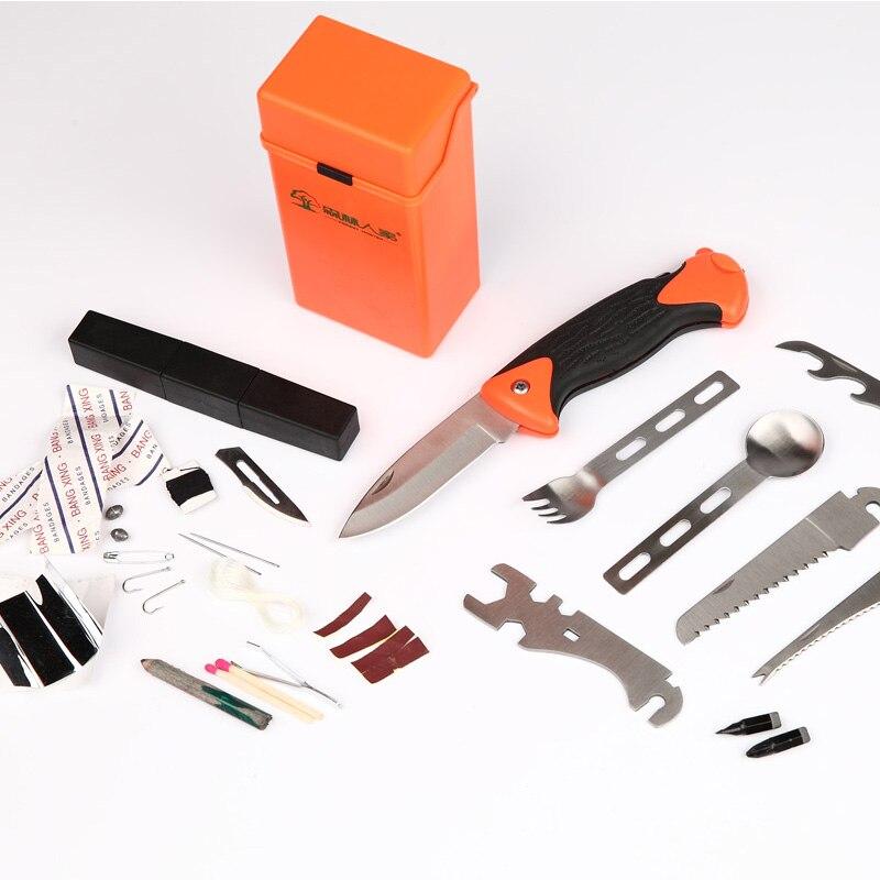 12pcs Set Outdoor Survival Knife Camping Equipment