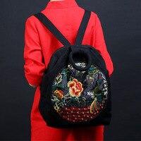 Xiyuan marki hafty drukowanie plecak uczniowie gimnazjum tornister tornister torba na laptopa back pack dla dziewczyn prezent