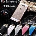 Стилус & Bling Люкс Shinning Игристых алмазов задняя крышка жесткий чехол для Samsung Galaxy A3 A5 A7 A3000 A5000 A7000