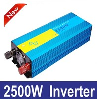 2500w pura sinus inverter 2500W pure sine wave power inverter 12V 220V