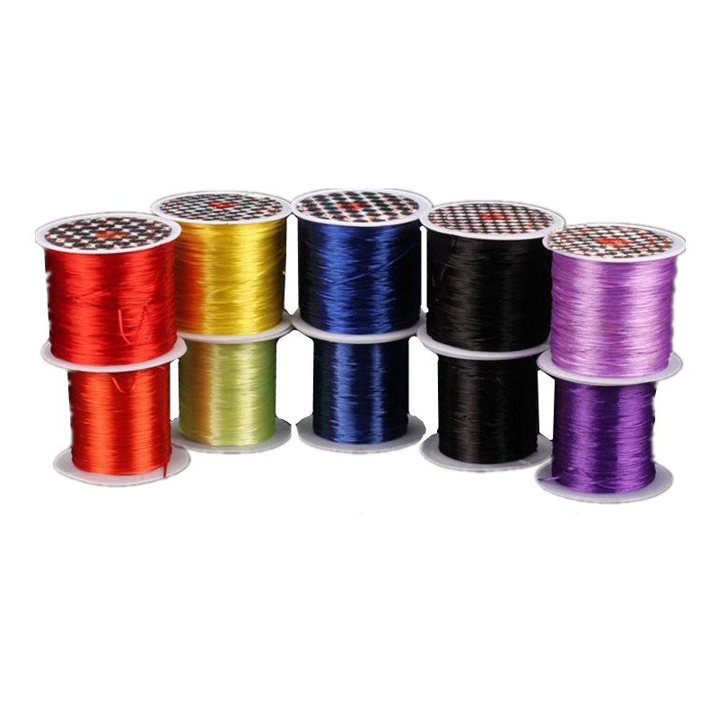 Durable Slingshot Rubber Band Accessories Used For Slingshot Rubber Band Five Colors 50 Meters A Roll Of Rubber Line