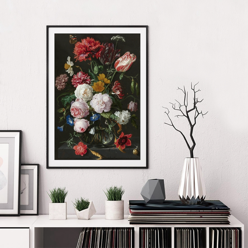 Dutch Flowers Canvas Art Prints Home Decor