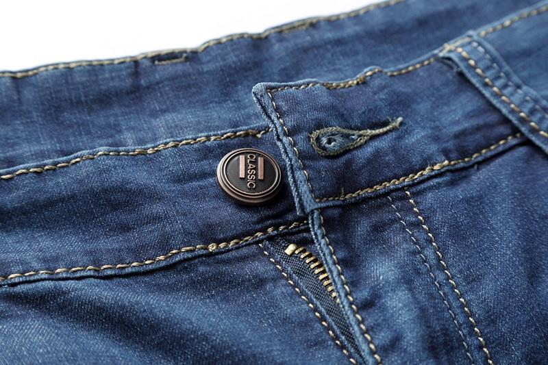 MOGU Ravne priložnostne kratke hlače Moške kratke hlače iz jeansa - Moška oblačila - Fotografija 2